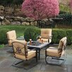 <strong>Alfresco Home</strong> Soiree Spring 5 Piece Chat Set