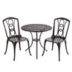 Alfresco Home Retiro 3 Piece Bistro Set
