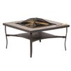 Alfresco Home Canyon Burning Fire Pit Table