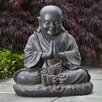 Alfresco Home Seated Buddha Statue