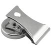 <strong>Master Magnetics</strong> Chrome Plated Magnet with Clip (Pack of 2)