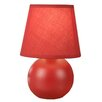 "NormandeLighting Accent 7.5"" H Table Lamp with Empire Shade"