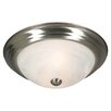 Wildon Home ® Riviera Flush Mount in Pewter
