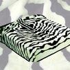 Wildon Home ® Zebra Acrylic Mink Skin Blanket