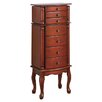 <strong>Wildon Home ®</strong> Wapato Jewelry Armoire with Mirror