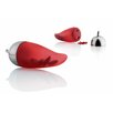 <strong>Alessi</strong> Object Bijoux Piccantino Chili Scruncher by LPWK and Jim Hannon-Tan
