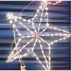 SantasForest 3D Pre-Lit Star Christmas Decoration