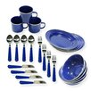 <strong>24-Piece Camping Tableware Set</strong> by Stansport