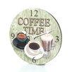 "Lexington Studios 18"" Coffee Time Wall Clock"