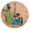 """Lexington Studios Home and Garden 18"""" Whimsical Teapots Wall Clock"""