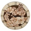 "<strong>Lexington Studios</strong> Home and Garden 18"" Magnolias Wall Clock"