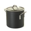 Calphalon Commercial Hard-Anodized Stock Pot with Lid
