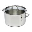<strong>Tri-Ply Stainless Steel 8-qt. Stock Pot with Lid</strong> by Calphalon