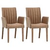 <strong>Gold Sparrow</strong> Valarie Arm Chair (Set of 2)