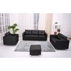 <strong>Gold Sparrow</strong> Detroit 4 Piece Sofa, Loveseat, Arm Chair and Ottoman Set