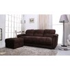 <strong>Phila Sofa Bed and Ottoman Set</strong> by Gold Sparrow