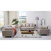 Gold Sparrow Lexington 3 Piece Sofa, Loveseat and Arm Chair Set