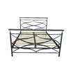 Gold Sparrow Rome Metal Bed