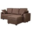 Gold Sparrow Aspen Convertible Sectional Sofa with Right Facing Chaise