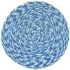 <strong>Shagadelic Blue Twist Swirl Rug</strong> by St. Croix