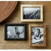 <strong>St. Croix</strong> Kindwer 3 Piece Hand Carved Bone Ribbed Picture Frame Set
