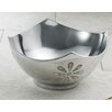 St. Croix Kindwer Aluminum Bowl with Mother of Pearl Flowers