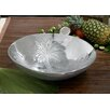 St. Croix Kindwer Etched Tropical Fruit Bowl