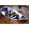 <strong>St. Croix</strong> Kindwer Tropical Boat Novelty Serving Tray with 2 Oars as Servers