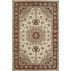 <strong>American Home Rug Co.</strong> Premier Ivory/Burgundy Rug