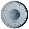 "Nextime 16.9"" Fancy Wall Clock"