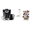 Keurig 2.0 K350 Brewing System with Carousel and Water Filter Starter Kit