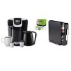 Keurig 2.0 K350 Brewing System with Countertop Storage Drawer and Mountain Breakfast Blend K-Cups