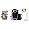 Keurig 2.0 K450 Brewing System with 2.0 Carousel, Water Filter Refills and Starbucks House Blend K-Cups