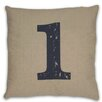 <strong>Numeral 1 Pillow</strong> by DR International