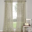 <strong>DR International</strong> Kerr Linen Rod Pocket Sheer Curtain Panel (Set of 2)