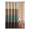 <strong>DR International</strong> Hampton Hotel Color Block Shower Curtain