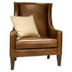 <strong>Elements Fine Home Furnishings</strong> Bristol Top Grain Leather Chair