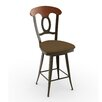 "Amisco Countryside Style Cynthia 30"" Swivel Bar Stool"