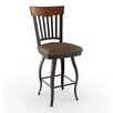 "<strong>Amisco</strong> Countryside Style 26"" Lighthouse Swivel Bar Stool"