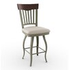 "Amisco Countryside Style 26"" Lighthouse Swivel Bar Stool"