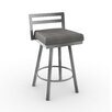 "Amisco Urban Style Derek 30"" Swivel Bar Stool"