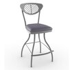 "<strong>Amisco</strong> Eco Style  26"" Zelia Swivel Bar Stool"
