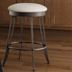 "<strong>Amisco</strong> Library Luxe Style  26"" Phylo Swivel Bar Stool"