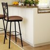 "<strong>Amisco</strong> Countryside Style 26""  Chain Swivel Bar Stool"