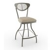"Amisco Eco Style Zelia 26"" Swivel Bar Stool"