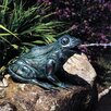 <strong>Brass Baron</strong> Happy Frog Fountain