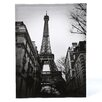Oriental Furniture Eiffel Tower Sun Glow Photographic Print on Canvas