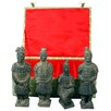 <strong>Oriental Furniture</strong> 4 Piece Warriors Figurine Set
