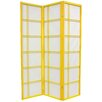 "Oriental Furniture 70"" x 42"" Double Cross Shoji 3 Panel Room Divider"