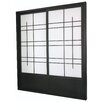 "<strong>Oriental Furniture</strong> 83"" x 73.5"" Eudes Shoji Double Sliding Room Divider"
